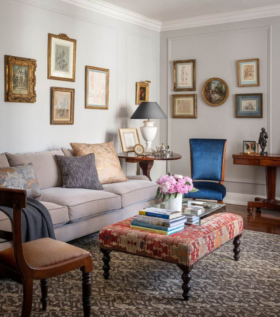 Gallery Wall In Living Room Decor